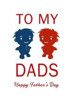 Our Dad and Daddy range of same-sex father's day cards - created due to popular demand.