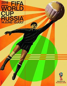 Ahead of Friday's World Cup draw, FIFA has released the design of the official poster for the competition which features Lev Yashin, the Soviet goalkeeper who played in four finals