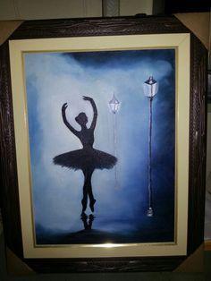 Bailarina em OST. 30x40 R$ 120,00