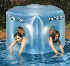 This pool toy looks awesome! My boys would love this! Head over to Amazon and get the Ice Cube Inflatable Pool Toy for $35.71, down from $64.90.