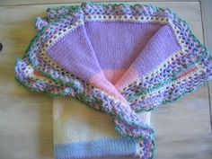 *+*MaGic PiXie KniTteR+*+: Colorful baby blanket (^_^)