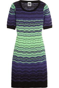 M Missoni Cotton-blend crochet-knit dress | THE OUTNET