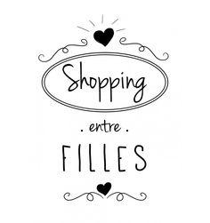 ♥ tote-bag shopping entre filles - marcel et lily