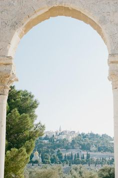 Stone Arch in Jerusalem   photography by…