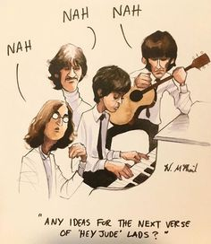 The second book to the Beatles Jokes and Memes series Beatles Funny, Beatles Lyrics, Les Beatles, Beatles Art, Beatles Quotes, John Lennon, The Quarrymen, Hey Jude, Music Memes