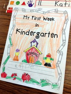 Beginning of Kindergarten Packet! FREEBIE
