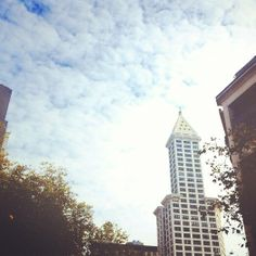 The Smith Tower in Seattle