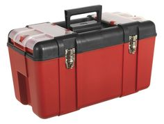 AP536 - SEALEY, 595MM, TOOLBOX, WITH TOTE TRAY http://www.teng.co.uk/tools/tool-boxes-storage.html