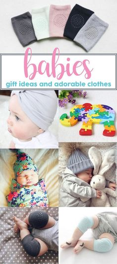 Gift ideas for babies. Christmas gifts for babies. Baby shower gift ideas.