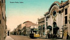 Imágenes de Chile del 1900: Talca Past, Street View, History, Painting, Social Stories, War Of The Pacific, Old Photography, Historical Photos, Past Tense