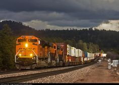 RailPictures.Net Photo: BNSF 8541 BNSF Railway EMD SD70ACe at Maine, Arizona by David Carballido-Jeans