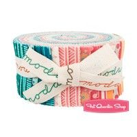 Bright Sun Jelly Roll Reservation<BR>A Quilting Life for Moda Fabrics