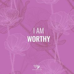 Affirmation: I AM WORTHY. #words #affirmations #manifesting http://www.lawofatractions.com/10-most-common-blocks-prevents-succeeding-business/
