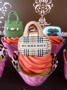 "Photo 4 of 6: Fashion / Birthday ""Fashionista Cupcakes""   Catch My Party"