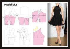 blusa do vestido