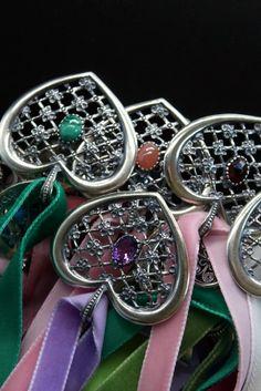 Rolex Watches, Bracelet Watch, Bracelets, Accessories, Gemstones, Sunday, Dirndl, Heart, Silver