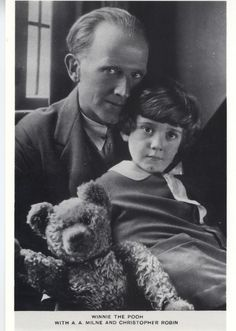 Winnie the Pooh & A.A. Milne & Christopher Robin. 3 of my oldest childhood friends, that I never met.