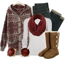 """""""Cozy Cranberry"""" by qtpiekelso on Polyvore"""
