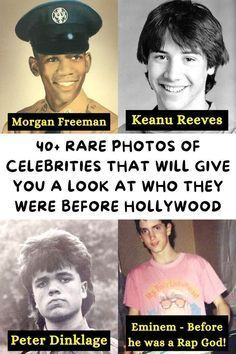 40+ Rare Photos Of Celebrities That Will Give You A Look At Who They Were Before Hollywood