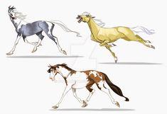 Horses by Polarkeet on DeviantArt