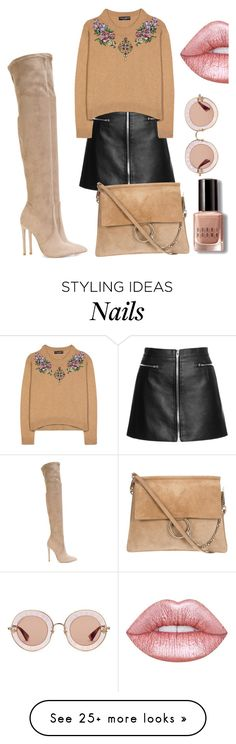 """""""casual"""" by elen-kajaia on Polyvore featuring Dolce&Gabbana, Gianni Renzi, Lime Crime, Gucci and Bobbi Brown Cosmetics"""