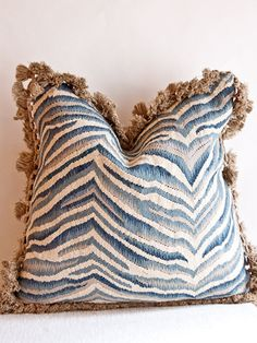 from Taigan, Aubusson pillow $570