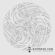 maori-sketch-for-spinning-wheel-laser.jpg (450×450)