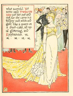 A masque of days : from the last essays of Elia:  ill. Walter Crane