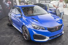 308R Hybrid - A very sporty looking concept car!