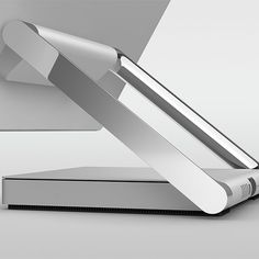 Inspiring design is at your fingertips with the Surface Studio easy-to-adjust display. Surface Studio, New Surface, Laptop Stand, Microsoft Surface, Kiosk, Creative Studio, Phone Holder, Mobiles, Product Design