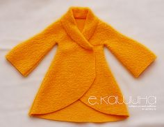 Mimin Dolls: tilda-yellow coat part 2