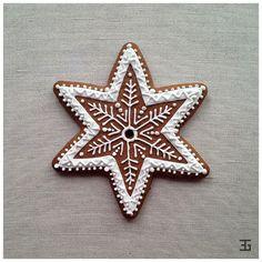 Boże Narodzenie 2016 Iced Cookies, Cute Cookies, Royal Icing Cookies, Sugar Cookies, Christmas Cookies, Christmas Gingerbread, Christmas Treats, Christmas Baking, Gingerbread Cookies