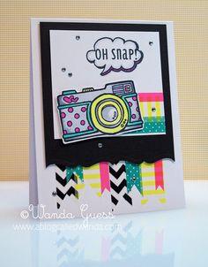 ablogcalledwanda.com Washi Tape blog post with cute card tutorials