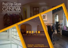 Forget the hassle of finding a pop-up store in Geneva for your brand. We are here to save your precious time by helping you find & book the best pop-up store. Visit us today