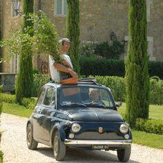 Fiat 500 con tetto apribile...