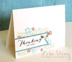Lisa's Creative Corner: June Project Kit - Seaside Boxed Card Set