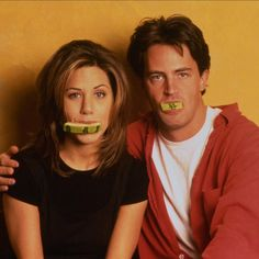 Jennifer Aniston and Mathew Perry #Friends