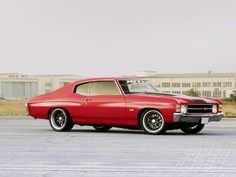 Chevy Chevelle- my first new car, and mine was an SS