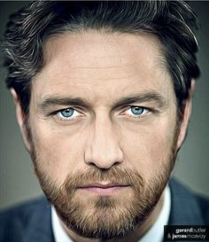 Gerard Butler & James McAvoy. This pic is mixed two famous actors..