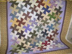This listing is for batting, thread and edge-to-edge machine quilt pattern that could be done on your quilt top. Typical double bed size is
