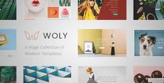 Download and review of Woly - Multipurpose Theme with A Huge Collection of Modern Layouts for All Your Needs, one of the best Themeforest Creatives themes