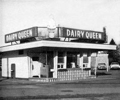 This photo of a Dairy Queen was shot in Tenafly in the 1950s. Courtesy of Vintage Bergen County