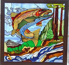Pictures of Randy's stained glass projects Stained Glass Designs, Stained Glass Panels, Stained Glass Projects, Stained Glass Patterns, Stained Glass Art, Mosaic Designs, Mosaic Art, Mosaic Glass, Glass Art Design