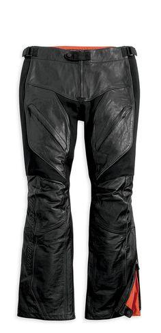 #harley-davidson-women-s-fxrg-leather-overpant-98033-12vw  Women's Vests #2dayslook #fashion #Vests www.2dayslook.com