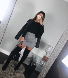 Find images and videos about fashion, style and outfit on We Heart It - the app to get lost in what you love. Boujee Outfits, Winter Fashion Outfits, Girly Outfits, Cute Casual Outfits, Stylish Outfits, Fall Outfits, Classy Going Out Outfits, Cute Outfits For Party, Winter Club Outfits