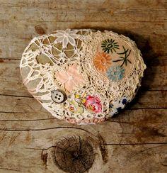 Crochet Covered Rock