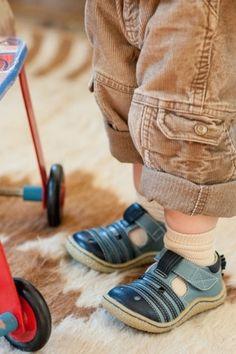 Livie & Luca Boys Blue Zebra Shoes, toddler sizes 4-9, $58, IN STOCK