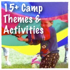 Dear Friends and Readers, It's that time of year, and we are all gearing up for a few months of Summer Camp Glory. If you are like me and have yet to plan activities for each of your wonderful them...
