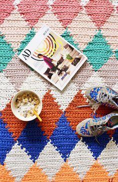 Crocheted rug inspiration