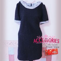 Wool Black Dress (DKO-25D440)  Size (Quantity):- Free Size (2)  Clearance Price now $25 (BIG LOSS) Usual Price $99 (exclude postage) Original Retail Price: $199  You can buy it at our website! More info on measurements to be found at http://theaccessories.co/product/DKO-25D440/  Like us at https://www.facebook.com/tiramisuboutiquesg  #TiramisuBoutique #Singapore #Yishun #CarousellSG #Shopee #Instagram #Pinterest #OnlineSingapore #SingaporeOnline #Dress #Women #Apparel #Korea #Winter #Wool…